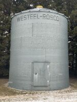*Approx. 2000-bushel Westeel Rosco flat bottom Bin