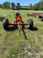 *Shop Built swather mover