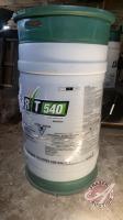 New sealed 115 litre barrel of RT 540 liquid herbicide