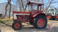 IH 806 dsl tractor