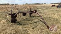 4-wheel hay rake