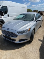 2014 Ford Fusion S, 223,287 kms showing, VIN# 1FA6P0G7XE5379629, Owner: Lonnie D Studer, Seller: Fraser Auction_______ ***TOD & Keys*** F57