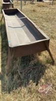 10ft metal feed trough