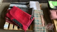 Saddle pads and blankets