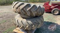 Firestone 18.4-34 duals on rims