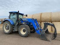 *2015 NH T6.180 MFWD 145hp tractor