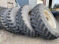 *(4) Titan 520/85R38 rubber on rims
