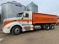 *2008 Peterbilt T/A grain truck, 1,135,115kms showing, VIN#1XPHDU9X98N766742, Owner: Donald A Caldwell, Seller: Fraser Auction______________, ***TOD & SAFETIED & KEYS***