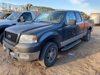 *Ford F150 XLT Truck, 409,611 kms showing, VIN# 1FTPX14575NB34861 F118 NO TOD – RUNNING PARTS ONLY f118, Seller: Fraser Auction_____________