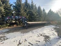 *2010 32' Load Max tandem dualled flat deck 5th wheel trailer, VIN#5LSGZ3224A1019996, Owner: Donald A Caldwell, Seller: Fraser Auction_____________________ ***TOD***