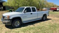 2007 GMC Sierra 2500HD SLE 4x4 Truck, 126,700KM showing, Vin- 1GTHK29U67E111101, Owner: J & M Farms Ltd Seller: Fraser Auction _____________________