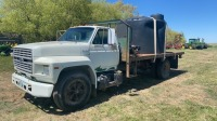 1991 Ford F600 S/A Truck, 275,685km showing, vin-1FDNF60JXMVA17764, SAFETIED Owner: Jim Heaman, Seller: Fraser Auction__________________