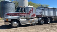 1994 Mack CH613 T/A highway tractor, 1,200,000km showing, Safetied, VIN# 1M1AA14Y9RW037744, Owner: J & M Farms Ltd, Seller: Fraser Auction___________________________