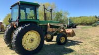 JD 4240 2WD 110HP Tractor w/ GB 800 Work Master loader, 6818hrs showing, s/n026582RW