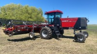 CaseIH WD1203 Swather w/ 30' DH302 header, 377 engine hrs showing, s/nYCG667127