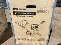 """4"""" Wood Chipper Kohler - New F114"""