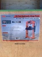 75 Ton Shop Press - New F114