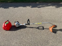 Stihl FS38 Gas Grass Trimmer, extra line and gas can w/ gas F34