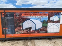 20'x30' Straight Wall Shelter - New F114
