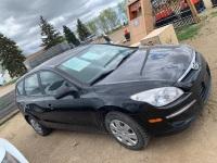 *2010 Hyundai Elanta 4 door, 4 cyl, Black, 259,824 kms showing, VIN# KMHDB8AE5AU057353 F57 Owner: Lonnie D Studer Seller: Fraser Auction___________ ***TOD & KEYS***