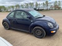 1999 Volkswagen New Beetle GLS, 206,078 kms showing, VIN# 3VWCA21C6XM425824, SAFETIED (REBUILT) Owner: Robert J Prettie, Seller: Fraser Auction________ ***TOD, SAFETY & KEYS***F139