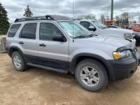 2005 Ford Escape XLT V6 Sport Utility, 251,023 kms showing, VIN# 1FMYU93195KE38748 F153, Owner: Darlene Fisk, Seller: Fraser Auction___________ ***TOD & KEYS***