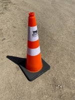 """29"""" Reflective Traffic Cone - New F114"""
