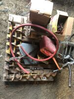 AUGER BIN SWEEP, BRIGGS AND STRATTON MOTOR, SWATHER GUARDS