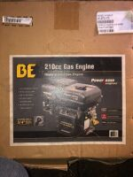"""210 CC GAS ENGINE, 3/4"""" KEYED SHAFT, NEW IN BOX, NEVER USED"""