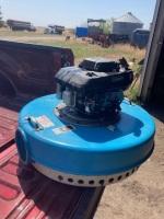 WATERMASTER SELFPRIME FLOATING PUMP C/W 6' DISCHARGE LINE KAWASAKI MOTOR