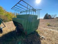 *Real Industries 4500lb cap creep feeder on wheels w/fold down panels
