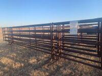 "30' 5-bar Drill stem free standing panel (2 3/8"")"