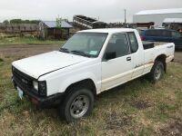 1989 Dodge D50 truck w/286237kms showing, VIN# JB7FM55E5KP034543, OWNER: D L WILSON, Seller: Fraser AUCTION___________