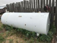 1000-gal Huge-L fuel tank w/Fil-Rite 20gpm 115-volt pump (only used 3 years)