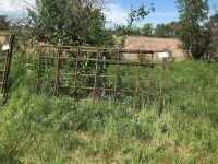 (1) 16' gate & (1) 8' calf walk-thru panel (sell as a lot)