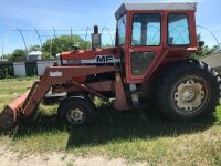 MF 1085 tractor w/loader NOT RUNNING