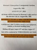 IMPORTANT MESSAGE ABOUT CONSIGNING ITEMS. PLEASE READ!