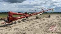 """13""""x84' buhler farm king PTO swing hopper auger, s/nNA"""