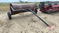 9' metal swath roller