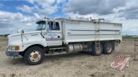 1995 Ford Aero Max LTL9000 grain truck, 001223 showing, VIN# 1FTYA95B7SVA15759, Owner: DEREK M JENKINS, Seller Fraser Auction ______________________________________