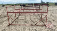 Tank stand skid frame