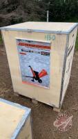 Wood chipper w/trailer B&S 4-3/4'', H50 NEW