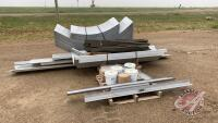 """30'Wx49 1/2'Lx18'3""""H Future Building (Do it Yourself) c/w walls, curved angles, nuts & bolts, washers, service door, Not included overhead door, ***manual - office trailer*** H53"""
