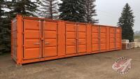 Container 40Ft HC Side Door, BNGU4192427, H50