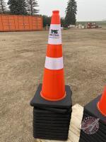 Reflective traffic cone 29'', H50, New