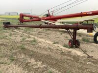 """8"""" x 32' Transfer auger w/electric motor mount and cleanout slide"""