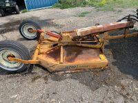 "60"" Wood Cadet 60 trailering style Bush mower, 540 pto, A33"