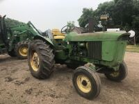 JD 3010 Diesel Tractor w/2 remote hyd, 18.4-30 rear rubber, 7.50-16 front rubber, pto, 4600 hrs showing, A36