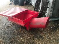 plastic auger hopper- new, A37
