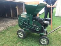 """Roto-Hoe cut & shredder, 8HP B & S, cuts up to 1"""" thick, s/n13472, A38"""